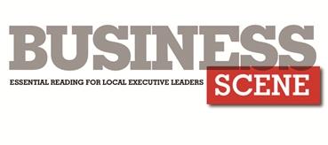 The business scene logo