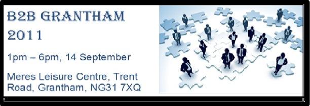 Grantham B2B 2011 Flyer Image