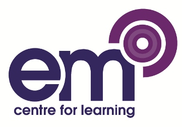 EM Centre For Learning Logo